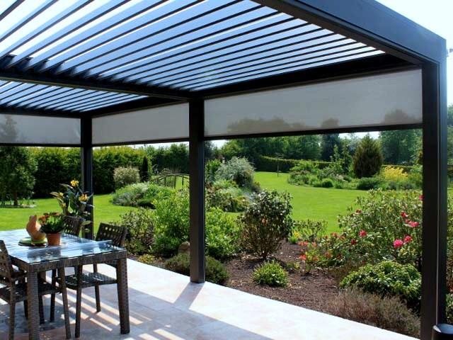 pergoly ako možnosť dobudovanie záhradného altánku hneď vedľa domu
